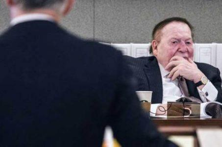 Sheldon Adelson 2015 online gambling