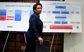 FIFA corruption Loretta Lynch DOJ