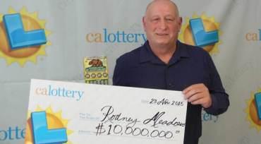 California man lottery win $10 million