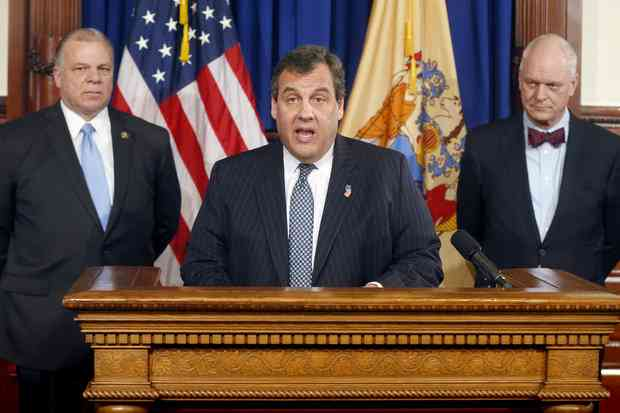 New Jersey Chris Christie