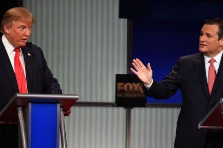 GOP debate Donald Trump Ted Cruz