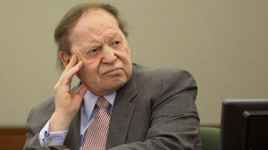Sheldon Adelson Las Vegas NFL