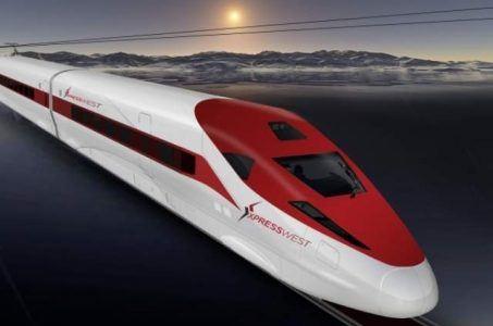 Las Vegas transportation bullet train