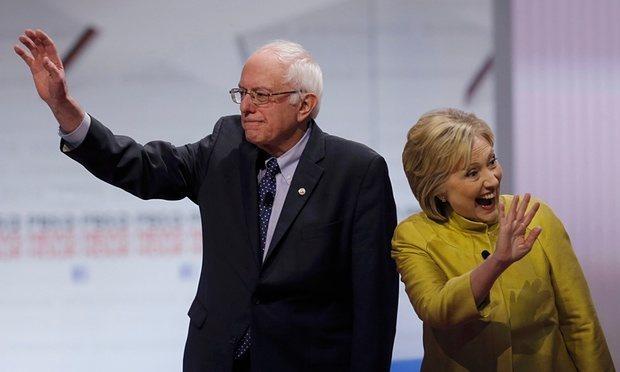 Nevada voters Hillary Clinton Bernie Sanders