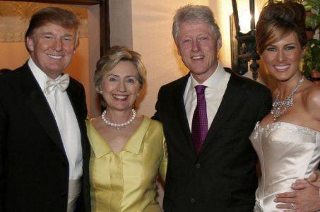 Trump Clinton 2005 wedding