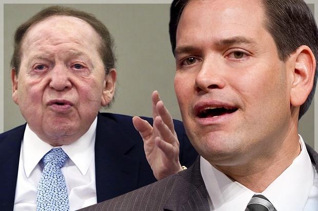 Adelson's LVRJ Endorses Marco Rubio