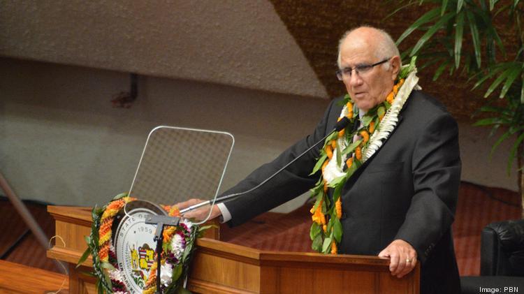 Hawaii House speaker Joe Souki lottery DFS