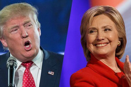 Donald Trump Hillary Clinton presidential campaign betting