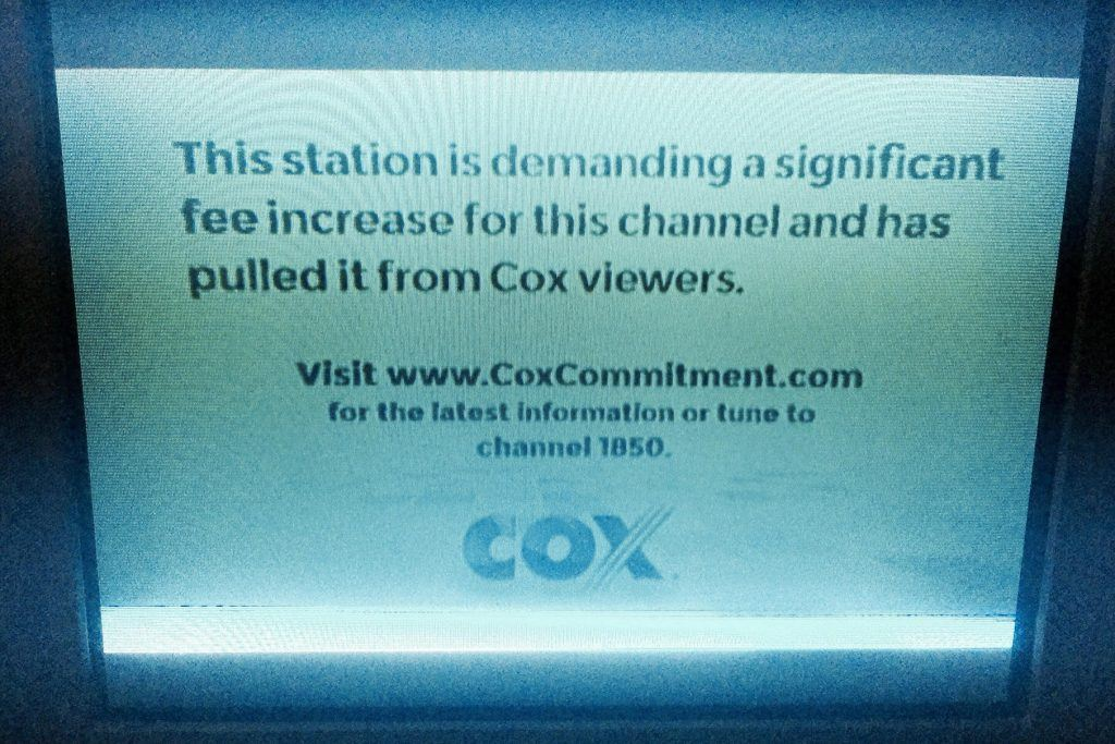 Las Vegas sportsbook Cox CBS Nexstar