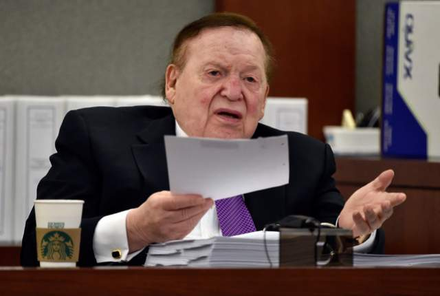 Las Vegas Review-Journal Sheldon Adelson