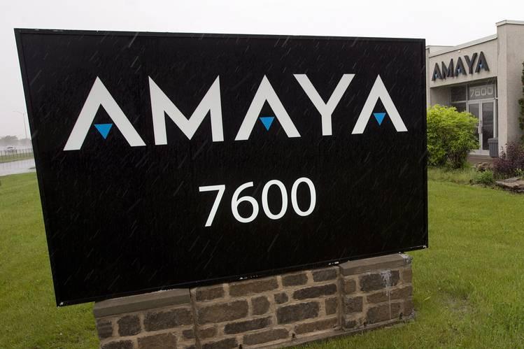David Baazov Amaya stock price
