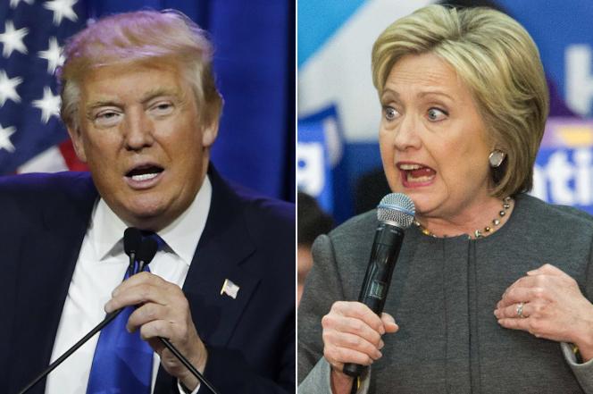 Donald Trump Hillary Clinton Super Tuesday