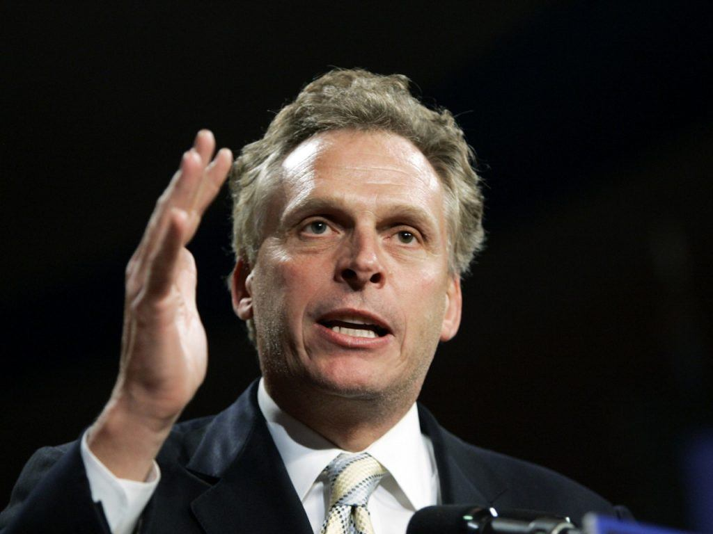 Governor Terry McAuliffe Virginia DFS licensing