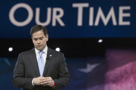 Marco Rubio drops out