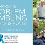 Problem Gambling Awareness Month Plainridge