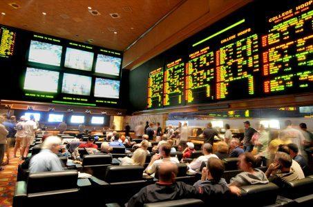 Nevada casino revenue Las Vegas sportsbooks
