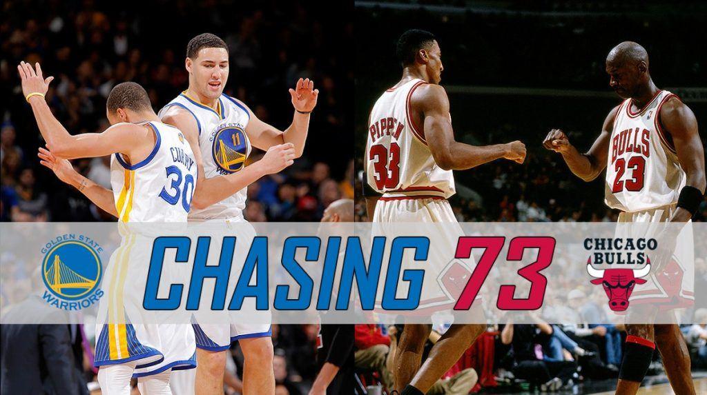 Golden State Warriors 73 wins