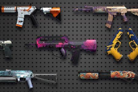 Counter-Strike skins virtual gambling market