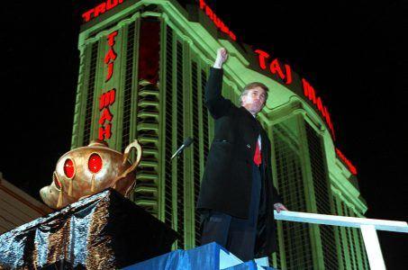 Donald Trump Chris Christie Atlantic City