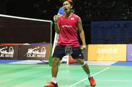 Japan badminton Kento Momota Summer Olympics