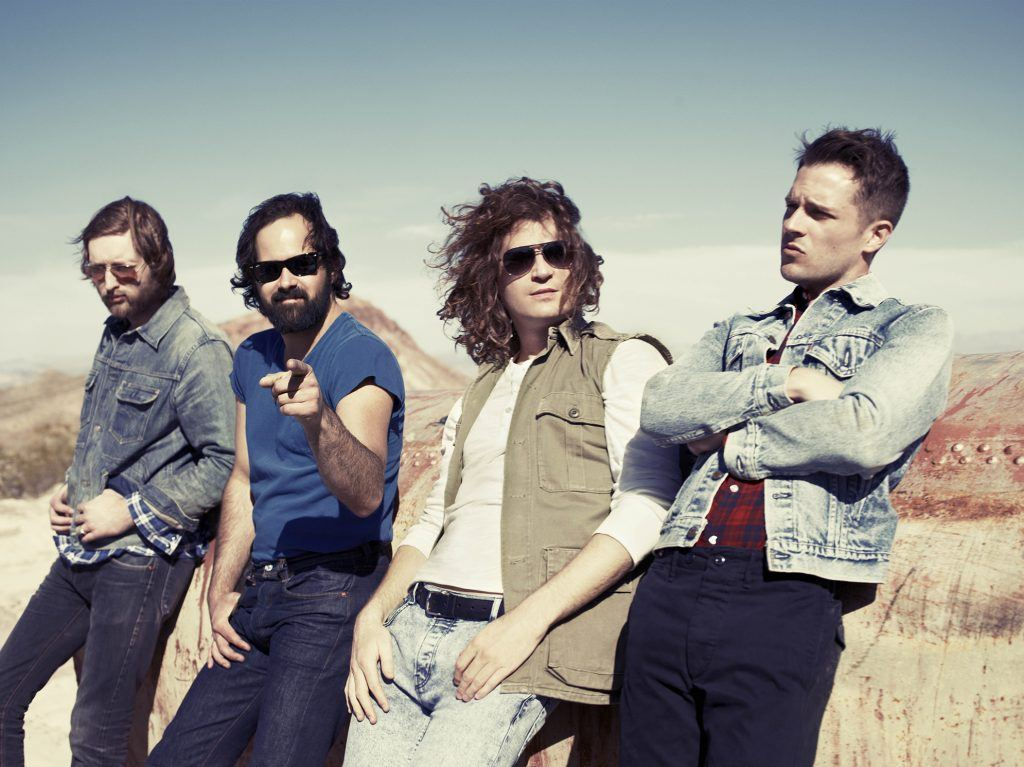 The Killers T-Mobile arena Sam Boyd Stadium Las Vegas