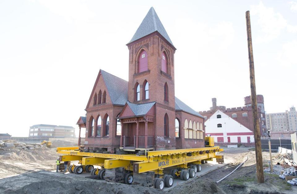 MGM Springfield casino church move