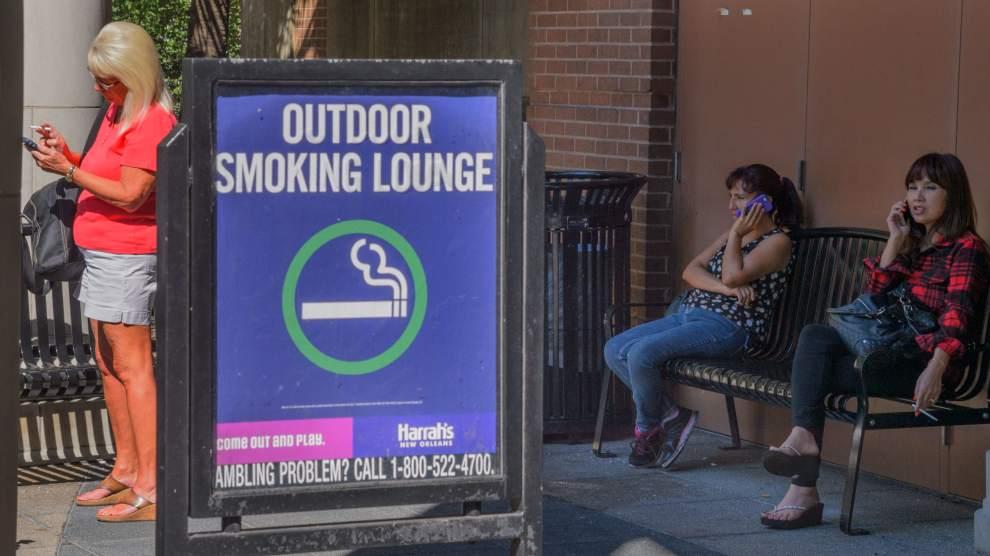 Harrah's New Orleans smoking ban