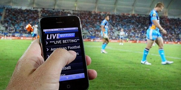 Australia bans in-play betting