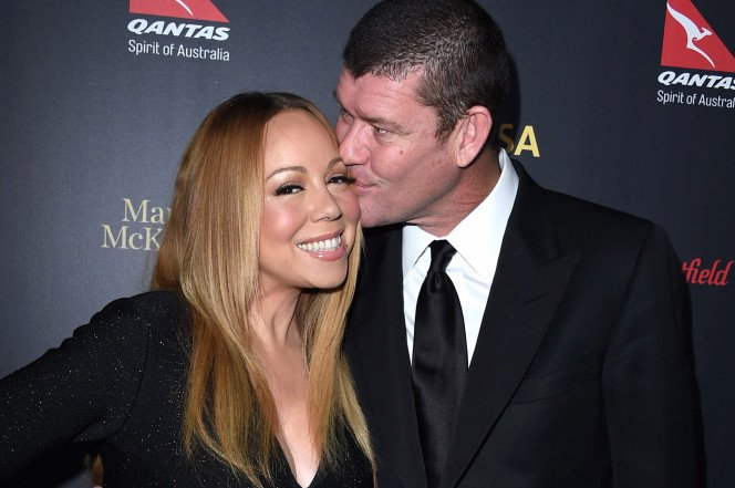 James Packer Mariah Carey Cannery