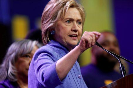 Hillary Clinton Donald Trump casino bankruptcy