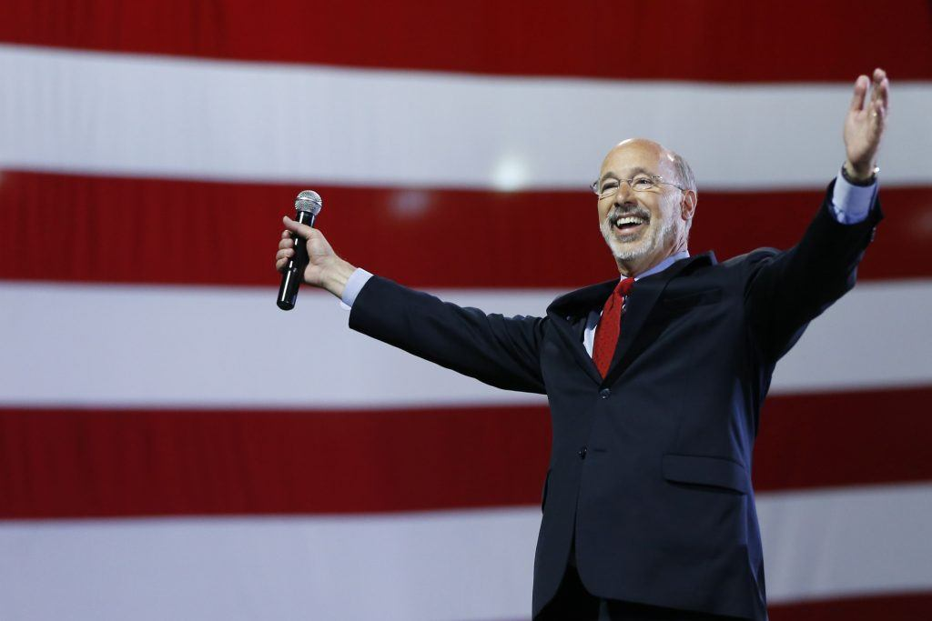 Pennsylvania Governor Tom Wolf budget could be plugged with online gambling