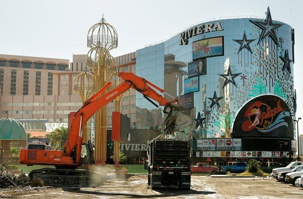 Riviera 16 billion hurdle to lv economy if demolition blocked for Riviera resort las vegas