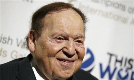 Sheldon Adelson Donald Trump 2016 election
