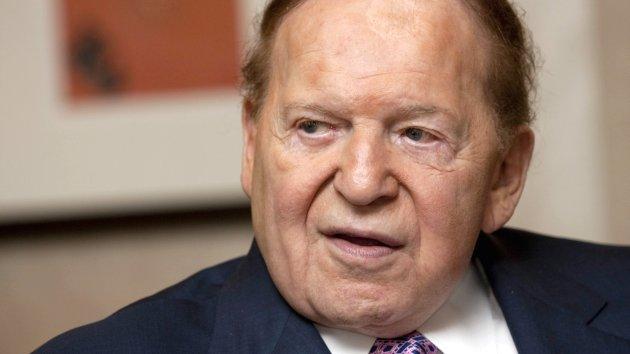 Sheldon Adelson online poker measure fails