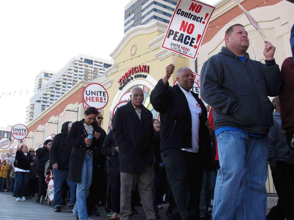 Atlantic City strike UNITE HERE Caesars