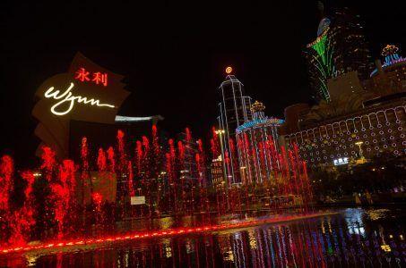 Macau gambling revenue Wynn Sands