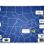 Casino pennsylvania map