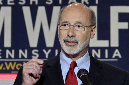 Pennsylvania Governor Tom Wolf online gambling
