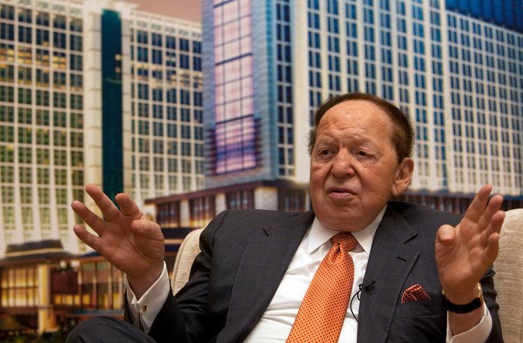 Sheldon Adelson super PAC Donald Trump