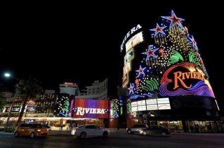 Riviera demolition Las Vegas Strip