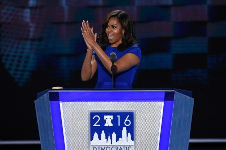 Donald Trump 2016 Michelle Obama Atlantic City