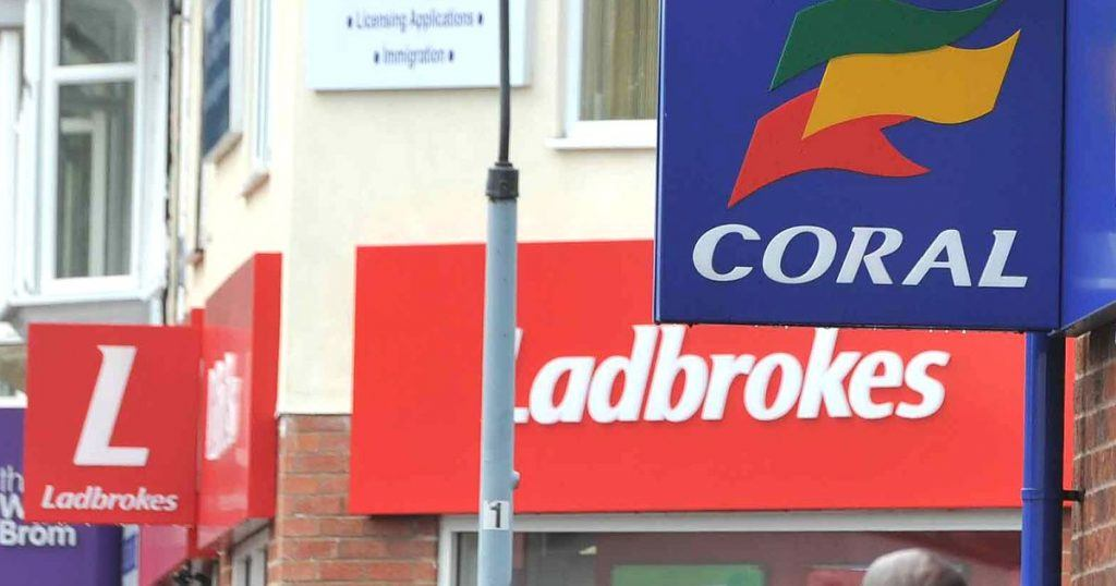 Ladbrokes and Gala Coral Must Lose 400 Shops Before Merger