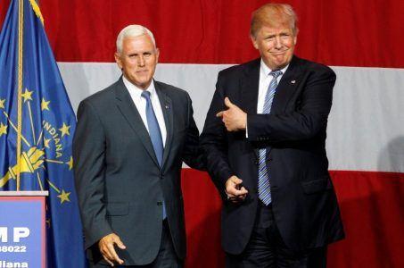 Donald Trump Mike Pence VP 2016