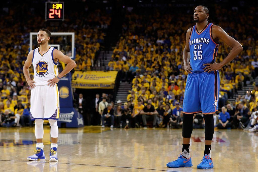 Kevin Durant Joins Golden State Warriors and Realigns 2016 ...