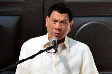 Philippines President Rodrigo Duterte online gambling