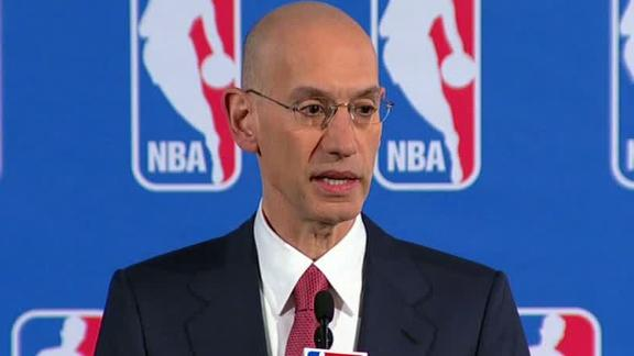 sports betting ring NBA Commissioner Adam Silver