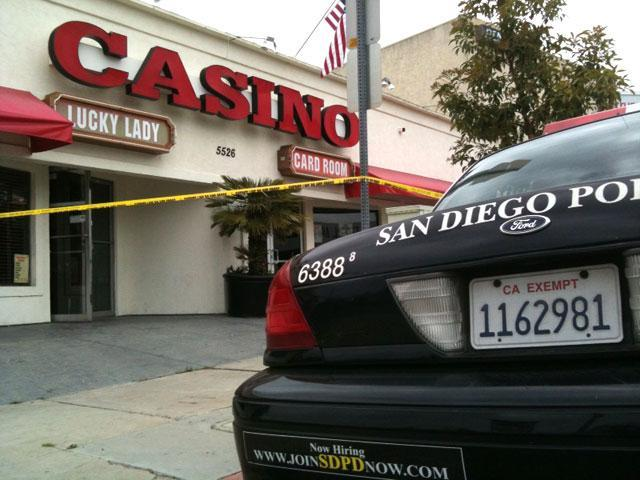 Lucky Lady Casino raid illegal sports gambling