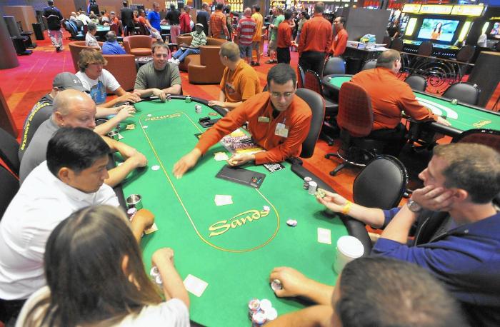 Sands casino pa poker tournament schedule
