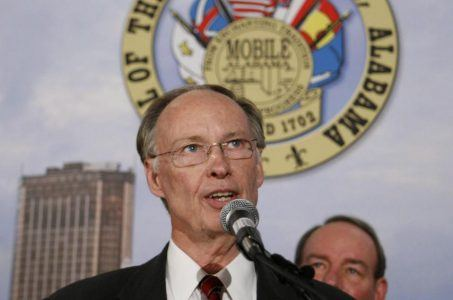 Alabama lottery bill Governor Robert Bentley