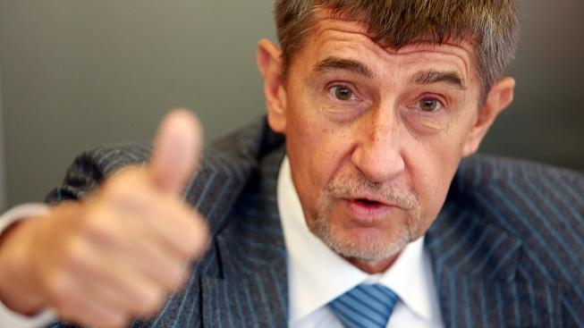 Andrej Babis attacked by Anonymous over online gambling.